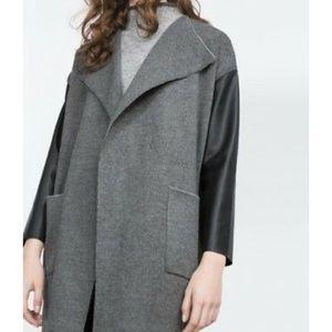ZARA Tweed Knit Jacket/Cardi  - Size Small